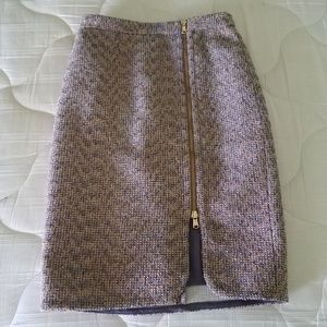 J Crew tweed skirt - Size 0P